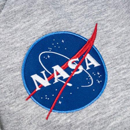 Alpha Industries NASA Zip Hoody Grey Heather