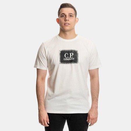 CP COMPANY T-SHIRT JERSEY 30/1 WHITE