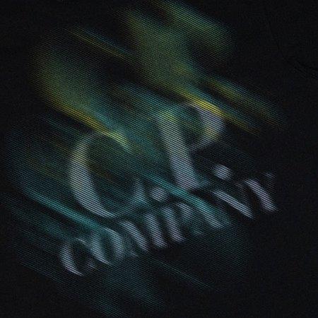 CP Company Jersey 20/1 Diagonal Blur Logo T-Shirt