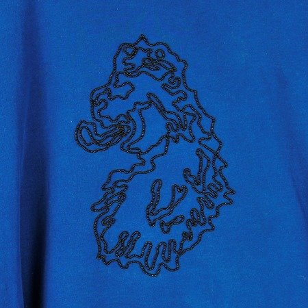 LUKE 1977 BEADED LION HEAD T-SHIRT PETROL