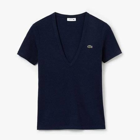 Lacoste Soft Cotton V-Neck T-shirt