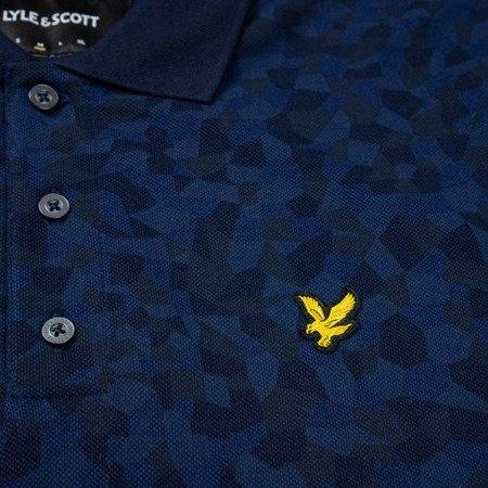 Lyle & Scott Geo Print Polo Shirt