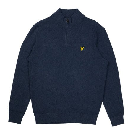 Lyle & Scott Moss Stitch 1/4 Zip Jumper