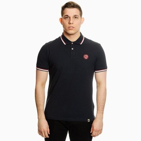 Pretty Green Mens Likeminded Chest Badge Polo