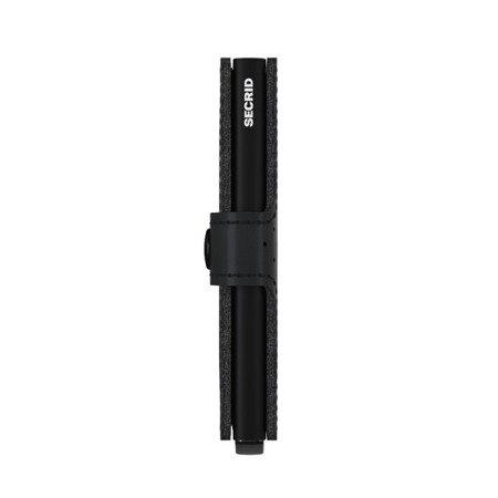 SECRID miniwallet preforated black