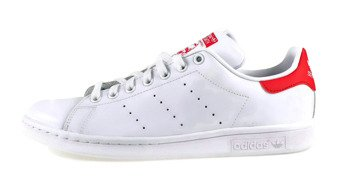 BUTY ADIDAS STAN SMITH WHITE / RED