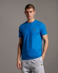 LYLE&SCOTT PLAIN T-SHIRT BRIGHT COBALT