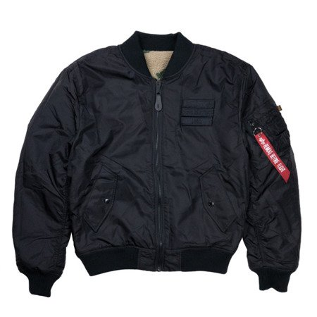 Alpha Industries MA-1 FLC Rev BLACK