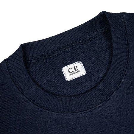 CP Company Diagonal Raised Fleece Chest Logo Crewneck
