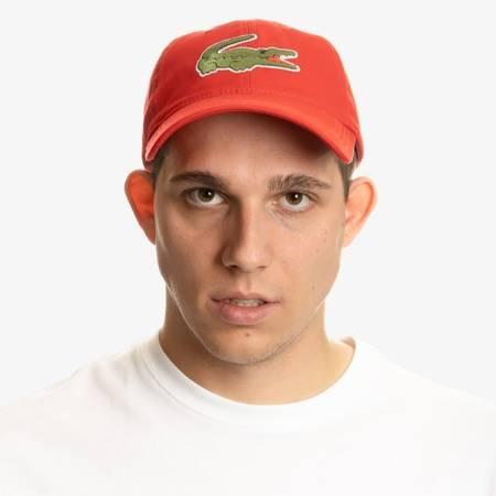 Czapka Lacoste Oversized Crocodile Cap