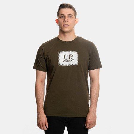 KOSZULKA CP COMPANY T-SHIRT JERSEY 30/1 GREEN