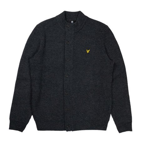 Lyle & Scott Knitted Zip Trough Funnel Neck