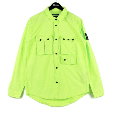 MARSHALL ARTIST HIKING OVERSHIRT ACID LIME