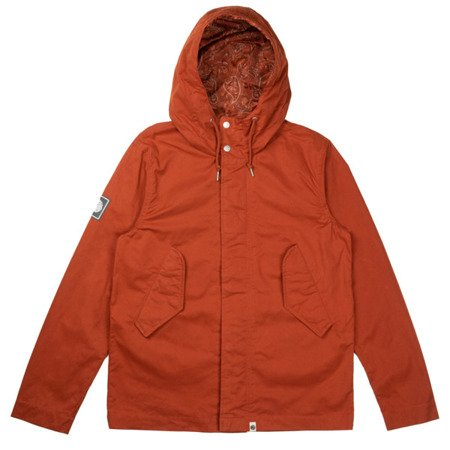 Pretty Green Mens Cotton Zip Up Hooded Jacket