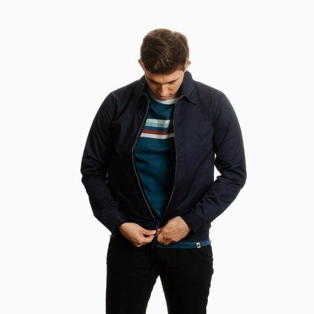 Pretty Green Mens Zip Up Harrington Jacket