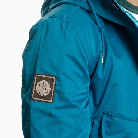 Pretty Green Mens Zip Up Hooded Parka