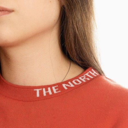THE NORTH FACE CREWNECK ORANGE