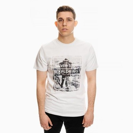 THE NORTH FACE GRAPHIC T-SHIRT WHITE